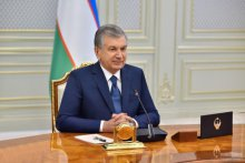 President of Uzbekistan holds talks with EBRD President