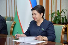 Uzbekistan delegation takes part in Women Speakers of Parliament Summit