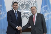 Permanent Representative of Uzbekistan to the UN awarded the highest diplomatic rank