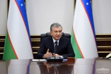 The President of Uzbekistan is briefed on promising projects in the petrochemical industry