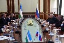 Uzbekistan's Prosecutor General meets with Russia's Chairman of the Investigative Committee
