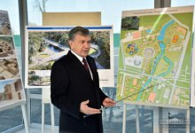 "PRESIDENT SHAVKAT MIRZIYOYEV GOT ACQUAINTED WITH THE PROJECT OF CREATING ""NAVRUZ"" PARK OF CULTURE AND RECREATION IN TASHKENT"