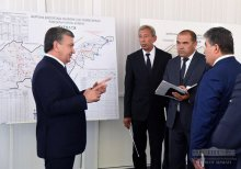 The scale of construction of multi-storey houses in Fergana expands