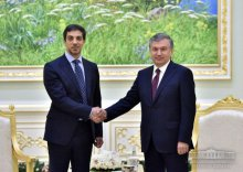 President of Uzbekistan received the Deputy Prime Minister, Minister of Presidential Affairs of the United Arab Emirates