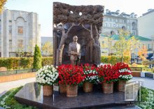 Monument to the First President of Uzbekistan Islam Karimov is erected in Moscow