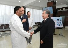 President becomes acquainted with social objects and new projects after the asset meeting