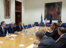 Meeting with Italy's Deputy Foreign Minister