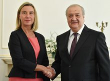 Meeting with EU High Representative for Foreign Affairs and Security Policy