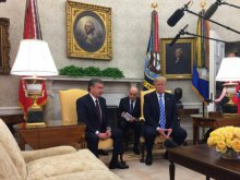 Meeting of Uzbekistan and the United States Presidents