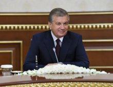PRESIDENT OF THE REPUBLIC OF UZBEKISTAN RECEIVED THE PRESIDENT OF THE TURKISH COOPERATION AND COORDINATION AGENCY