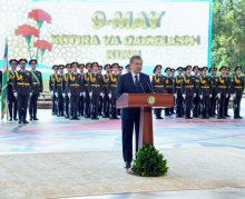 President Shavkat Mirziyoyev's speech at the Day of Memory and Honor festive ceremony