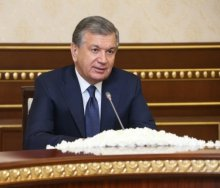 PRESIDENT OF UZBEKISTAN RECEIVED DEPUTY ASSISTANT TO THE U.S. PRESIDENT