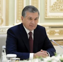 PRESIDENT OF UZBEKISTAN RECEIVED CHINESE GOVERNMENT DELEGATION