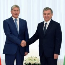 PEOPLE OF UZBEKISTAN AND KYRGYZSTAN ARE WELCOMING THE CURRENT LEVEL OF RELATIONS